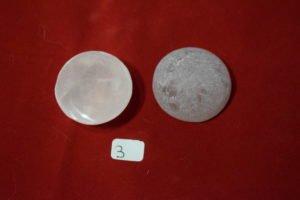 galet de quartz rose une face polie 3 Chrystina - Boutique Ésotérique