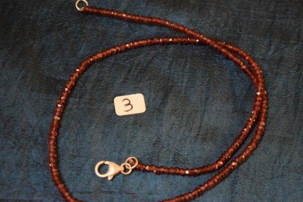 collier grenat sur fil d'argent 3 Chrystina - Boutique Ésotérique