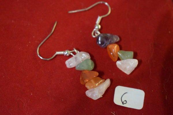 Boucles d'oreilles fantaisies 6 Chrystina - Boutique Ésotérique