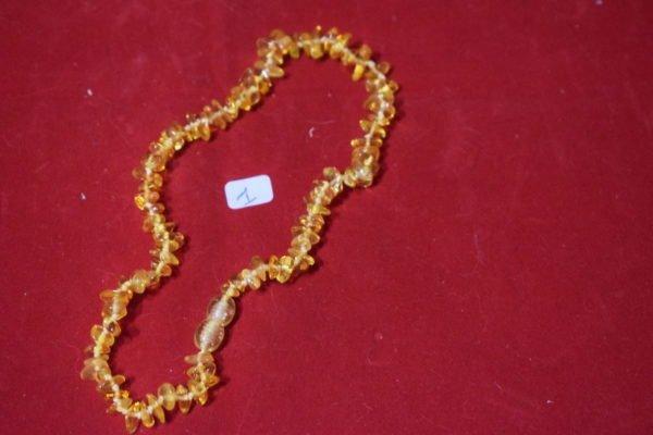 Collier bébé Ambre 1 Chrystina - Boutique Ésotérique
